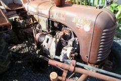 Traktor MASSEY HARRIS (nálezový stav)